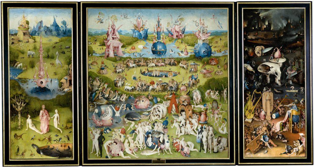 Drago Karol Golli H Bosch triple collection garden of earthly delights garden eden earth warning last judgement